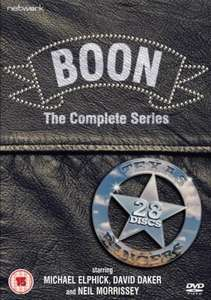 Boon - The Complete Series 01 - 07 BOXSET..FREE DELIVERY.. 24HRS ONLY ENTER CODE TBS10 ..NOW ONLY £47.69 inc Delivery@Zavvi.com