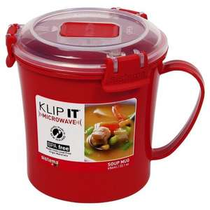Sistema Klip It - Soup to Go Mug 656ml for £2.70 with code @ ASDA Direct