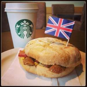 Starbucks, Great British Breakfast £2 with any handcrafted beverage