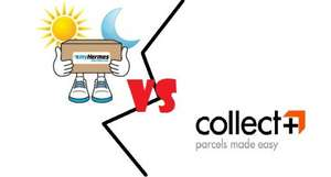 Comparison of Couriers - MyHermes & Collect+ (From Small Parcels to Heavy ones)