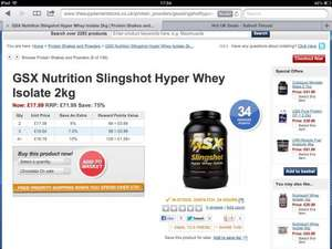 Protein great deal £17.09 @ the supplement store