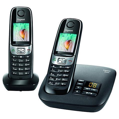 Siemens Gigaset C620A Digital Telephone and Answer Machine - Twin £59.95 @ John Lewis