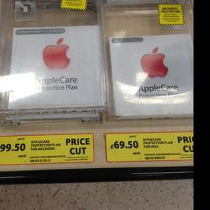 AppleCare for iMac and MacBook at Tesco £69.50 and £99.50