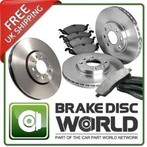 Vauxhall Astra H brake discs and pads REAR £29.99 @  carpartworld-ltd Ebay