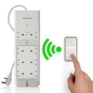 Belkin Conserve Switch Energy Saving Surge Protector with Remote for £10.98 delivered @ Dabs
