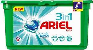 Ariel 3in1 pods 38 washes £3.50 Asda HALESOWEN only I think.