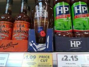 Forces sauces brigadier Brown Sauce £1.09 @ Tesco