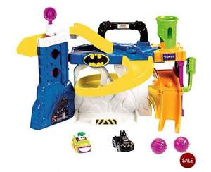 Fisher Price little people batman and Friends Race 'N' Chase Batcave £15 @ TESCO InStORE ( aberdeen)