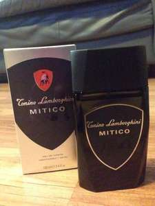 100ml Lamborghini Mitico Eau De Toilette Men's Aftershave £10.00 @ Superdrug