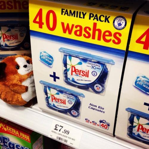 Persil Non-Bio Capsules- £7.99 @ Home Bargains