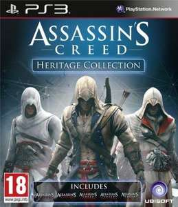 Assassin's Creed Heritage Collection (PS3/X360) £30.47 Delivered @ Amazon Pre-Order 07/11/13