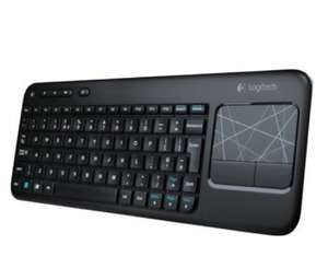 Logitech k400 wireless keyboard and touchpad £23.38 @ Amazon
