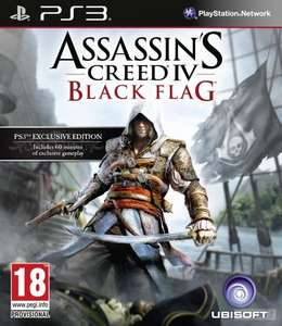 Assassins Creed black flag £9.97 when trading in 2 games at gamestop.
