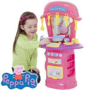 Peppa Pig's Electronic First Kitchen is Only £17.99 @ Home Bargains