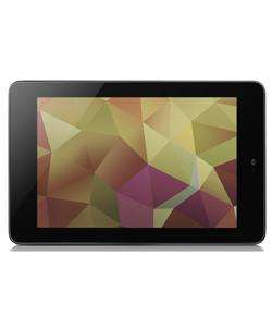 ASUS GOOGLE NEXUS 7 TABLET 16GB WIFI - BLACK Argos Outlet £99.99 (Refurb)