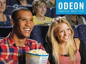 Nationwide admission to ODEON Cinemas from £6 for 1,  £10 for 2 @ Amazon local deals