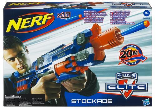 Nerf Nstrike Elite Stockade Blaster @ Amazon £12.49