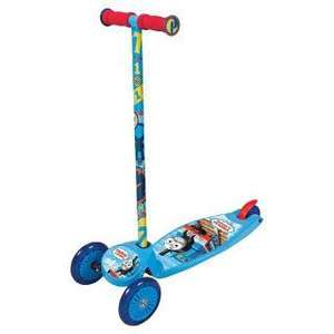 Thomas and Friends tilt n turn scooter £10  from tesco direct