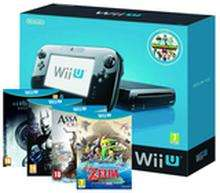 Wii U 32g Premium Pack + Nintendo Land +The Legend of Zelda: Wind Waker HD + Batman Arkham City + Assassins Creed 3 + Resident Evil Revelations £289.85 @ShopTO
