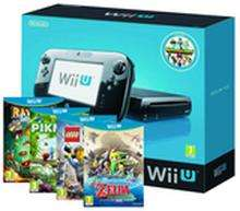 Wii U 32g Premium Pack + The Legend of Zelda: Wind Waker HD + Rayman Legends + LEGO City Undercover + Pikmin 3 + Nintendo Land £339.85 @ShopTO
