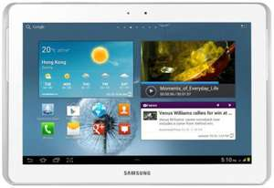 "Samsung Galaxy Tab 2 GT-P5110 10.1"" Tablet - 16 GB - White - Refurbished Grade A - ebay Currys/PC WORLD £149.99"
