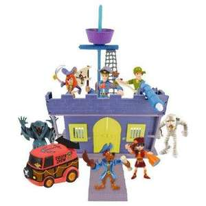 Scooby Doo Fort Playset & 7 Figures was £40 now £20 del to store @ Tesco Direct
