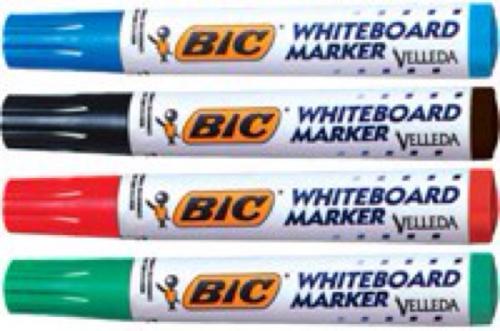 BIC Whiteboard markers £2 @ ASDA