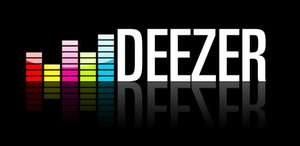 Deezer premium+ subscription half price £4.99 per month