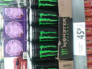 Monster energy drink 45p @ FarmFoods