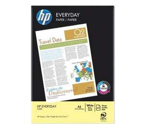 500 sheet ream of HP printer paper £2.99 delivered @ PC World