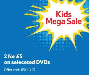 INSTORE & ONLINE @ TESCO NATIONWIDE AVAILABILITY ANIMATION DVD'S KUNG FU PANDA, MEGAMIND & MORE £5.00 FOR 2