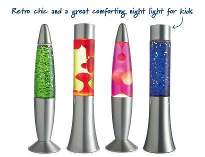 Aldi Lava/glitter lamps - £7.99