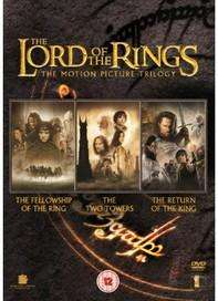 Lord of the Rings Trilogy Theatrical Edition DVDs (Exclusive Slim Packaging Edition) - £5 Delivered at Sainsbury's Entertainment