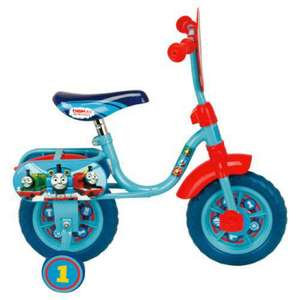 "Thomas the Tank engine and friends 10"" kids bike 50% off at Tesco online £25 reduced from £50"