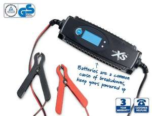 Aldi auto XS mains battery charger 6/12 volts instore 17/10/2013 @ £13.99.