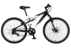 "Apollo Firecracker Full Suspension Mountain Bike 20"" £149.99 @ Halfords"