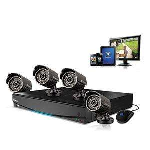 Swann DVR8-1260 8 Channel D1 Digital Video Recorder and 4 x PRO-535 Camera £299.99 @ Screwfix