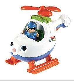 Tesco Direct - Fisher-Price World of Little People aeroplane HALF PRICE £5