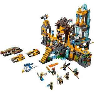 Lego Chima Lion Chi Temple (70010) £60.99 (with code) Plus Free Chima Speedorz set rrp £9.99 and Free delivery @ Toys R US