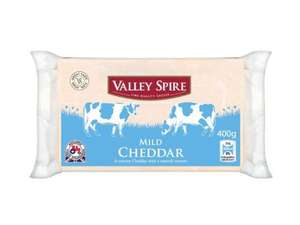 LIDL - Valley Spire - Mild Cheddar Cheese 400g - Buy 2 for £3