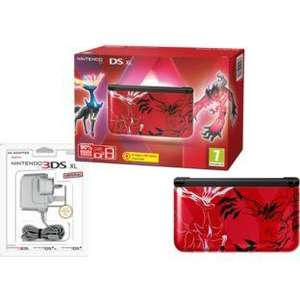 Pokemon X & Y Limited Edition Nintendo 3DS XL (blue or red) + X or Y Game + Official Charger £187.99 Delivered @ Argos