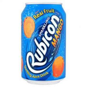 Rubicon Mango 12 cans for £3.00 . 8 cans + 50% free =12 cans @ Asda