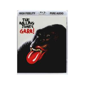The Rolling Stones: GRRR! (50 Track Compilation) HD Audio [Blu-Ray Pure Audio] Amazon £10.21 (& Free MP3 Download)