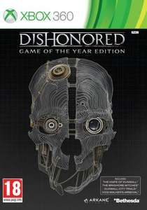 DISHONORED -game of the year  360 & ps3 - £11.16 Delivered @ Amazon (Sold by You Want It We Got It)