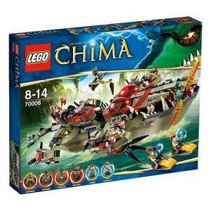LEGO Chima Cragger's Command Ship - 70006 £35.00 @ Asda Direct