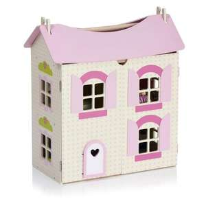 Wilko Play Wooden Dolls House £35 from £50 @wilkos