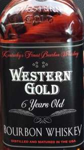 Western Gold 6 Year Old Bourbon - IWSC Gold Outstanding Award £14.49 @ Lidl