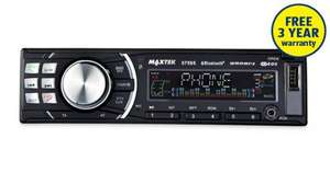 Maxtek Bluetooth Car Stereo £39.99 @ Aldi 3 Year Warranty.