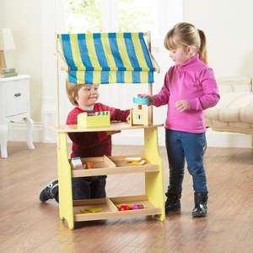 Wooden play Shop/market asda £25