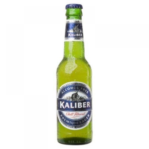 B&M Bargains 330 ml Kaliber alcohol free beer bottles 29p